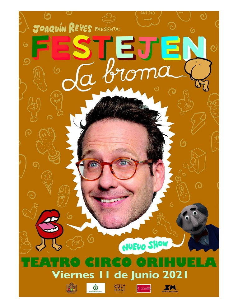Joaquín Reyes en el Teatro Circo de Orihuela