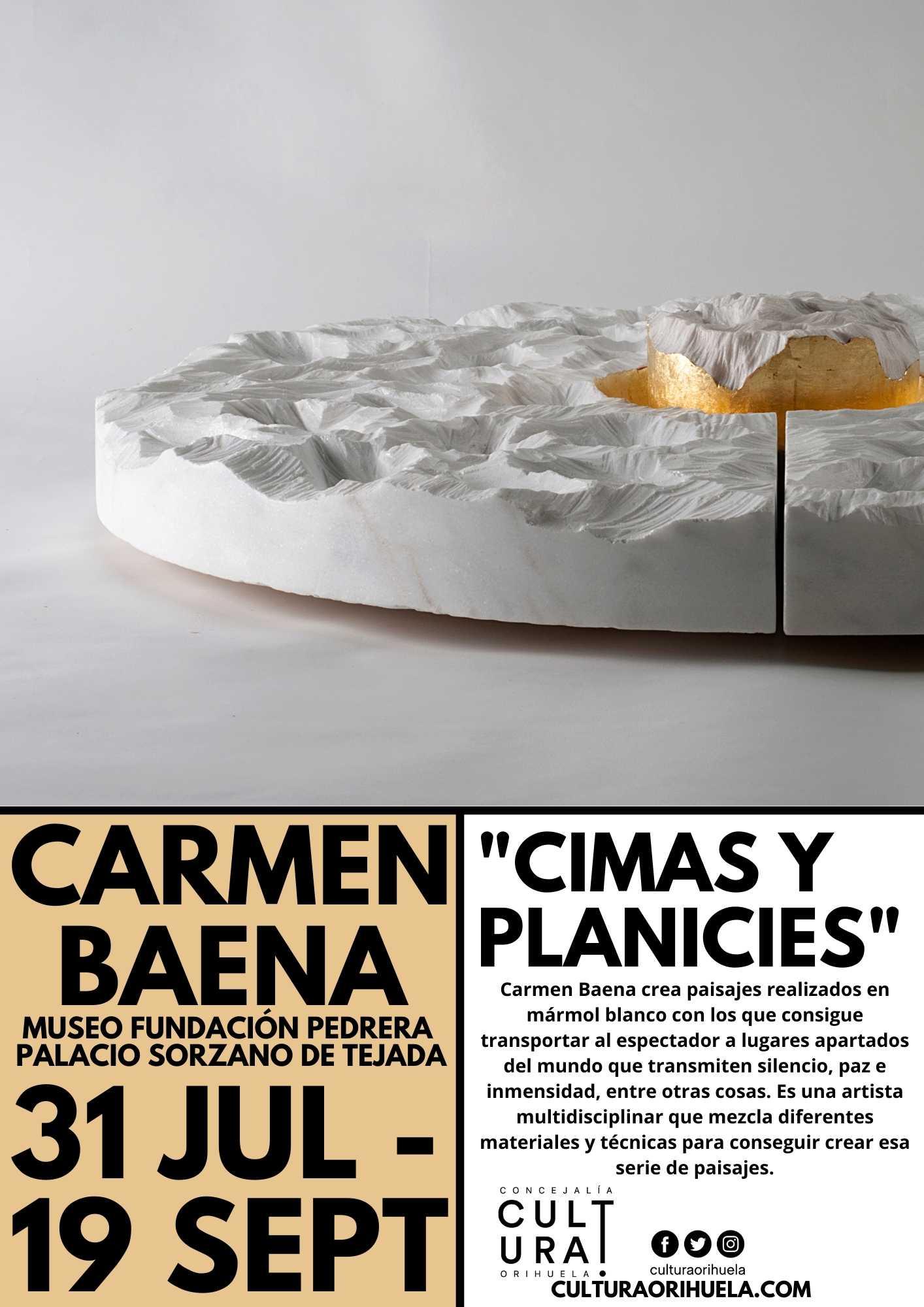 Exposición de Carmen Baena